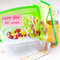 Stock Image : Bento lunch for your child in school, box with a healthy sandwic