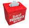 Stock Image : Best Feedback Ever Suggestion Box Ideas Input Comments
