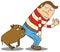 Stock Image : Beware of dog