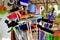 Stock Image :  Bezems en Schoonmakende Levering
