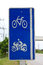 Stock Image : Bicycle sign