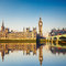 Stock Image : Big Ben and Houses of parliament, London