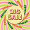 Stock Image : Big sale poster