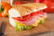 Stock Image : Big sandwich