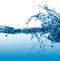 Stock Image : Big Water Splash.