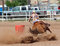 Stock Image : Bikini Barrel Racing Power Turn