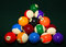 Stock Image : Billiard balls