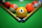 Stock Image : Billiards