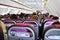 Stock Image : Binnen een vliegtuig WizzAir