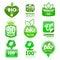 Stock Image : Bio - Eco - Natural icon set