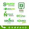 Stock Image : Bio - Ecology - Green icon set
