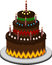 Stock Image : Birthday cake for you design