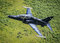 Stock Image : Black fighter jet T2 Hawk