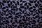 Stock Image : Black flower background color