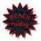 Stock Image : Black friday label.Vector illustration