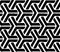 Stock Image : Black geometric seamless pattern