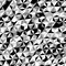 Stock Image : Black White Gray Triangle Pattern Vector