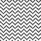 Stock Image : Black and white seamless zigzag