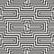 Stock Image : Black and white zigzag pattern