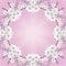 Stock Image : Blossom spring frame