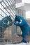 Stock Image : Blue Bear at Denver Convention Center