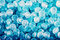 Stock Image : Blue candies background