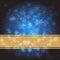 Stock Image : Blue Christmas background