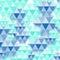 Stock Image : Blue diamond pattern