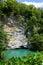 Stock Image : Blue lake, Abkhazia