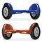 Stock Image : Blue and Orange Self-balancing scooter