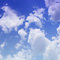 Stock Image : The blue sky with clouds