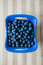 Stock Image : Blueberries in a bowl