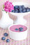 Stock Image : Blueberry yogurt
