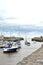 Stock Image : Boats marina