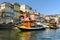 Stock Image : Boats in Porto, Portugal