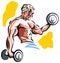 Stock Image : Body builder