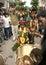 Stock Image : Bonam being taken to temple