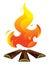 Stock Image : Bonfire