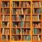 Stock Image : Bookcase full of books
