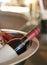 Stock Image : Bottle of wine