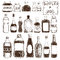 Stock Image : Bottles and Jars