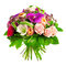 Stock Image : Bouquet of rose, paeonia and orchid