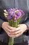 Stock Image : Bouquet of wild flowers