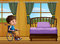 Stock Image : Boy and bedroom