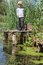 Stock Image : Boy while fishing