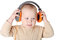 Stock Image : Boy with headphones