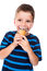 Stock Image : Boy with ice cream