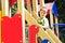 Stock Image : Boy on the playground