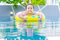 Stock Image : Boy in the swimming pool