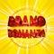 Stock Image : Brand bonanza badge